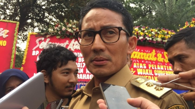 Wagub DKI Jakarta, Sandiaga Uno