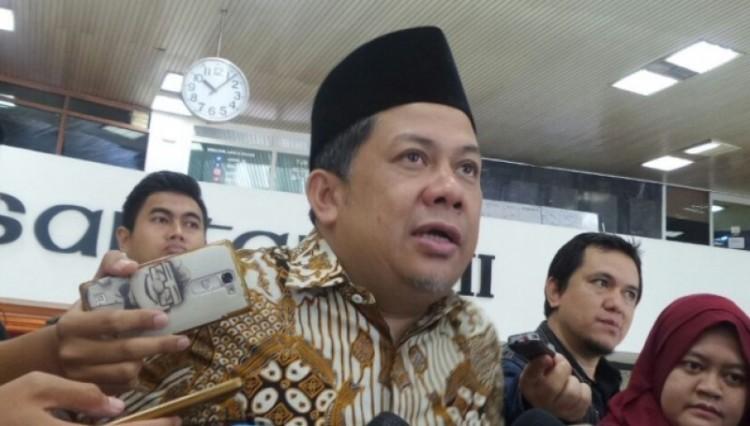 Wakil Ketua DPR RI Fahri Hamzah di Kompleks Parlemen