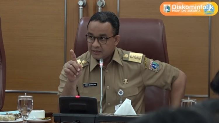 Anies Baswedan perintahkan bawahannya bereskan banjir di Jakarta