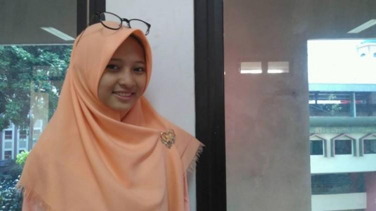 Aufatul Khuzzah, mahasiswi UIN Jakarta
