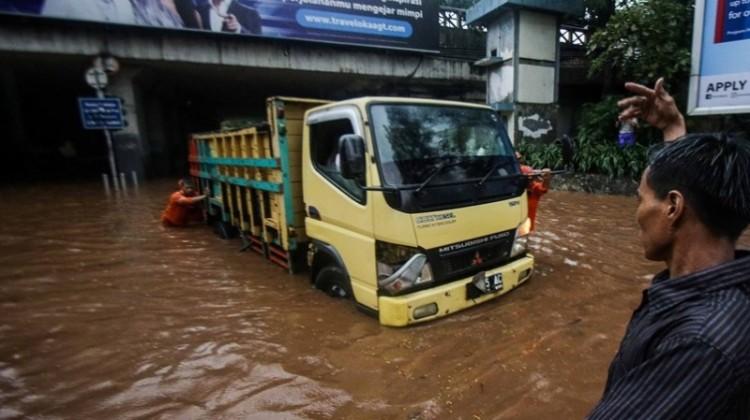 Banjir di terowongan Dukuh Atas, Jakarta