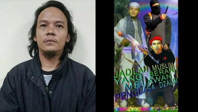 Cahyo Gumilar pengunggah foto mengancam Jokowi