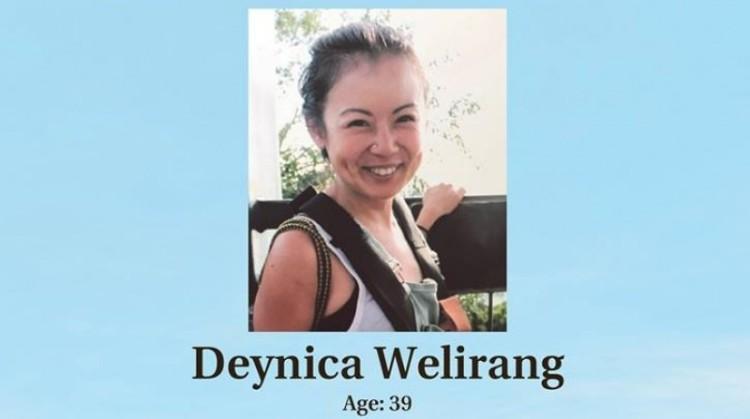 Deynica Welirang meninggal dunia