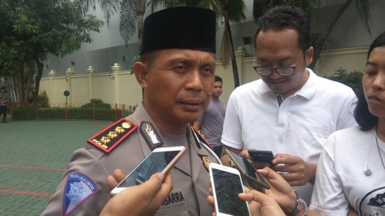 Dirlantas Polda Metro Jaya Kombes Halim Pagarra