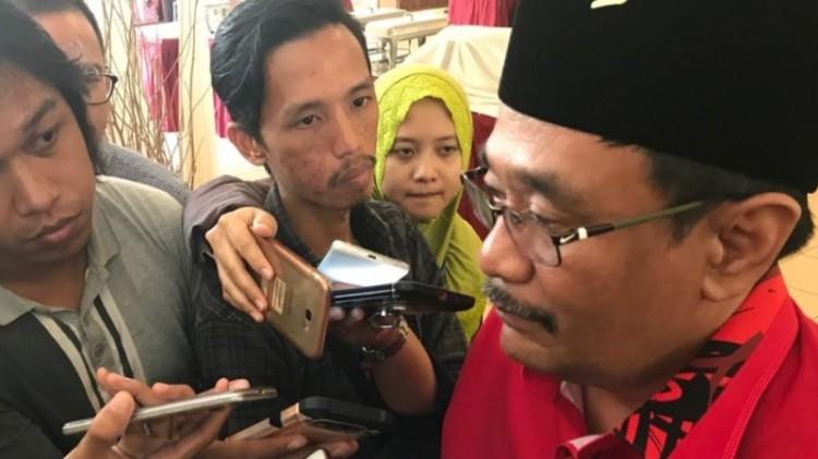 Djarot Saiful Hidayat dituding Anies tandatangani kenaikan dana parpol