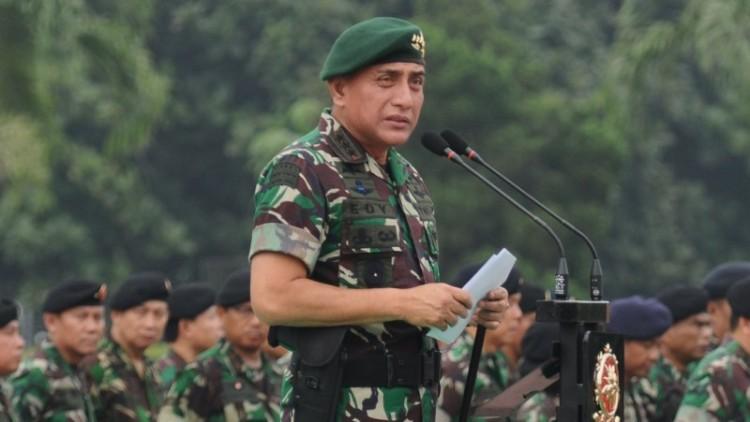 Letjen Edy Rahmayadi saat menjabat Pangkostrad