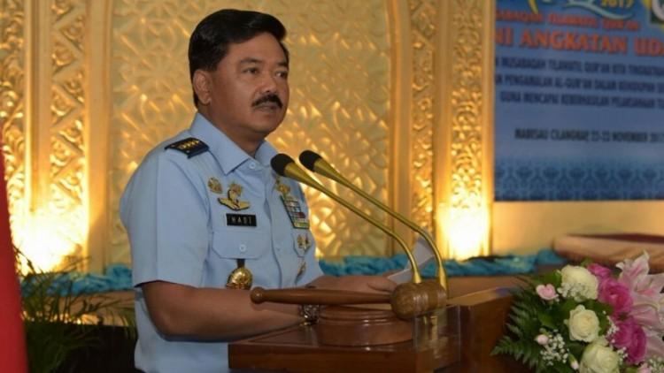 Marsekal TNI Hadi Tjahjanto, calon tunggal Panglima TNI