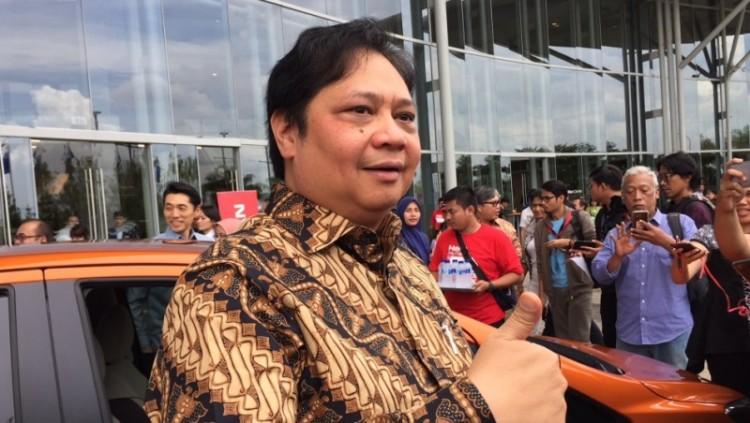 Menteri Perindustrian RI Airlangga Hartarto