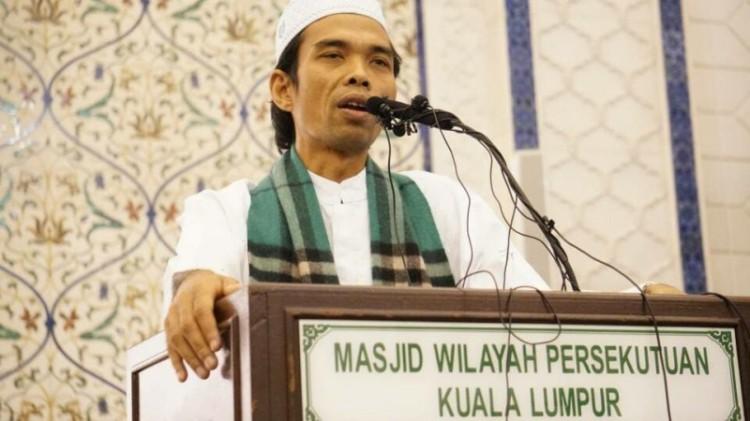 Ustadz Abdul Somad saat berceramah