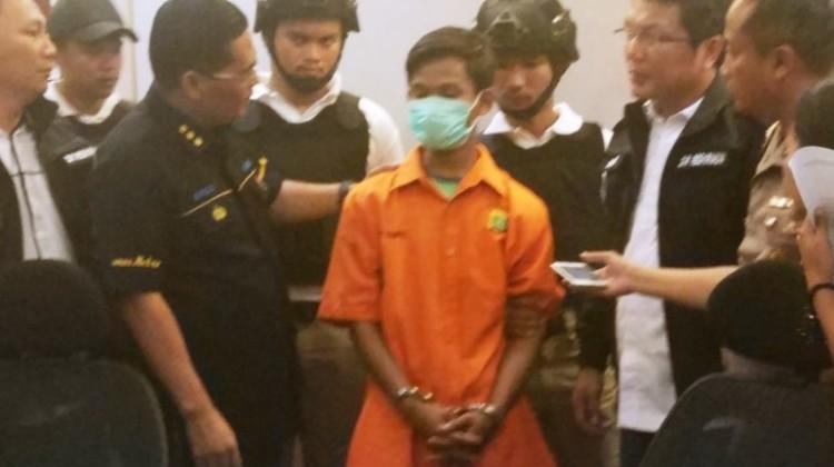 Acep Mulyadi, pelaku pembunuhan arsitek di Depok