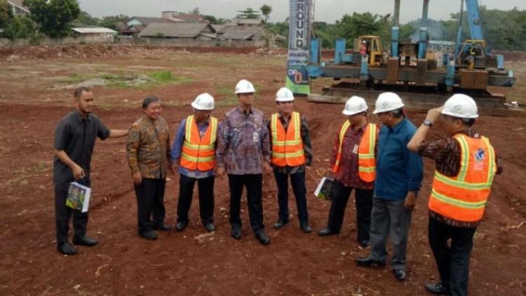 Anies Baswedan resmi melakukan groundbreaking program DP Rp0