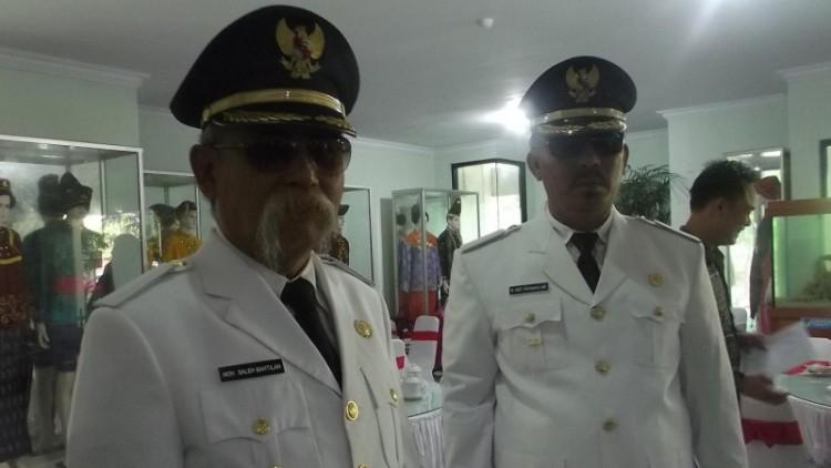 Bupati Tolitoli Saleh Bantilan dan Wakil Bupati Tolitoli Rahman Hi Budding