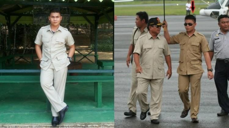 Fernando Wowor, pengawal Prabowo Subianto