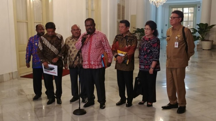 Kepala daerah di Papua dipanggil Jokowi ke Istana Bogor