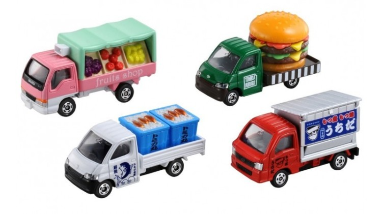 Mainan Tomica yang dijual online di luar negeri