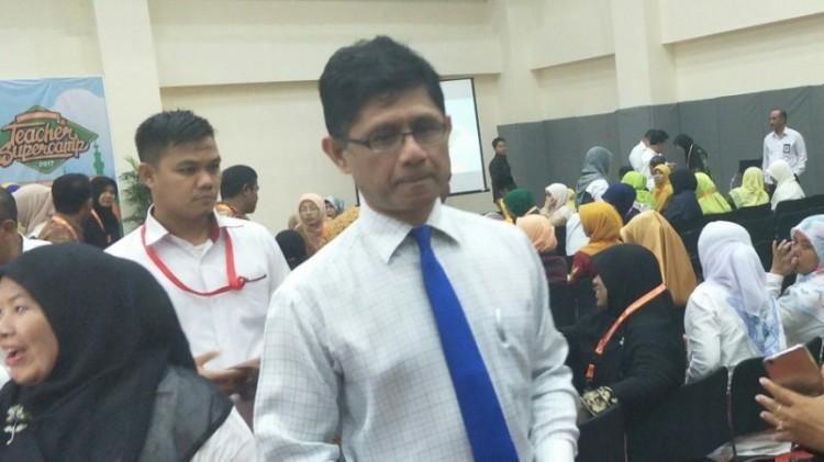 Wakil Ketua KPK Laode M Syarif di Gedung KPK