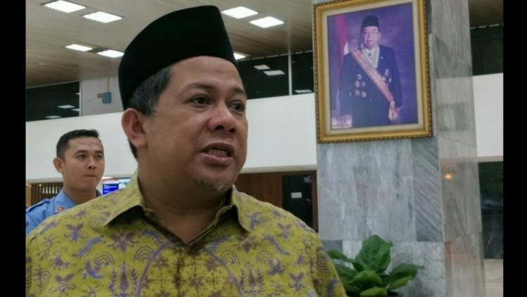 Fahri Hamzah menyebut Jokowi melakukan pencitraan soal UU MD3