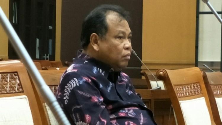 Ketua MK Arief Hidayat di Gedung DPR