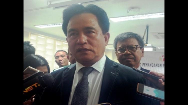 Ketua Umum Partai Bulan Bintang Yusril Ihza Mahendra