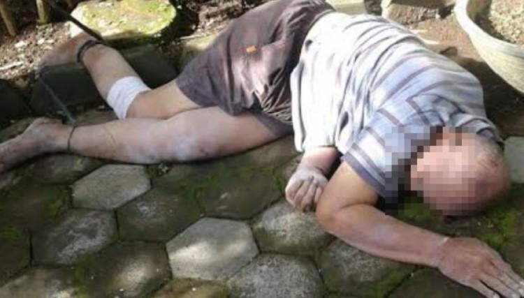 Kombes Pol (Purn) Agus Samad tewas dengan kondisi kaki terikat