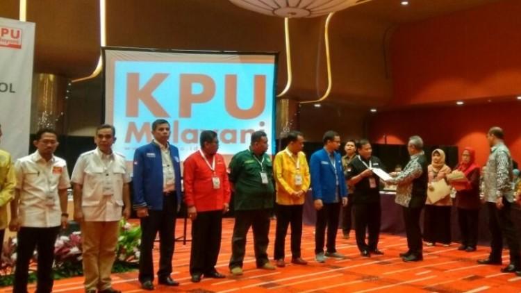 KPU RI melaksanakan Verifikasi & Penetapan Parpol Peserta Pemilu 2019