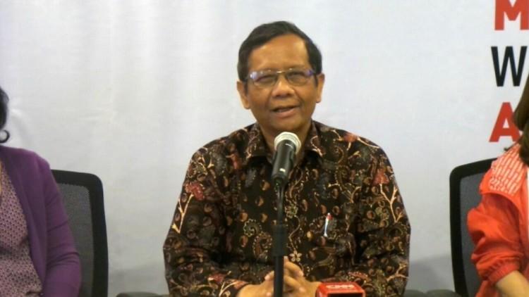 Mahfud MD berkomentar soal putusan MK terkait Hak Angket KPK