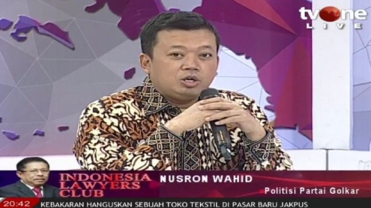 Nusron Wahid tampil di ILC TV One