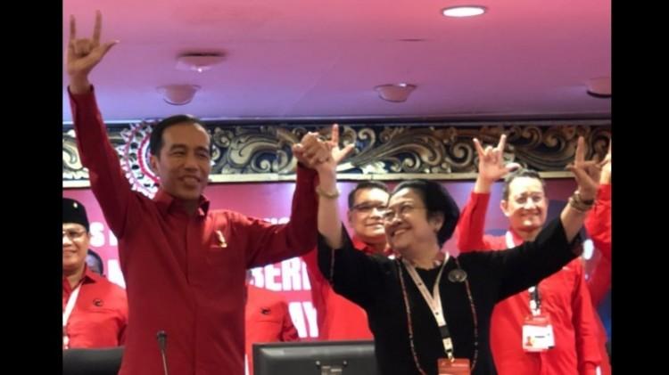 PDIP resmi mendukung Jokowi di Pilpres 2019