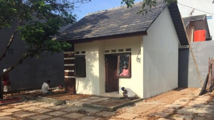 Penampakan rumah tapak DP Rp 0 di Rorotan