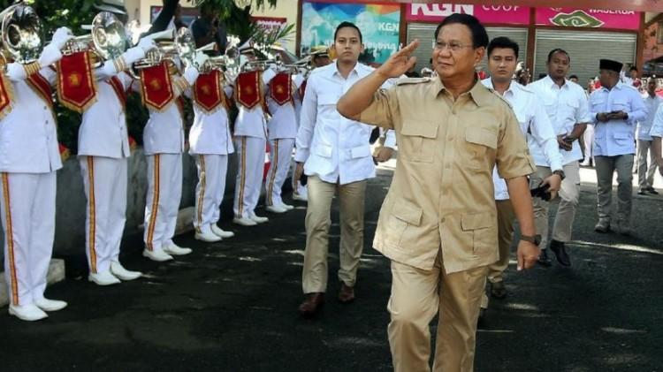 Prabowo menghadiri HUT ke-10 Gerindra