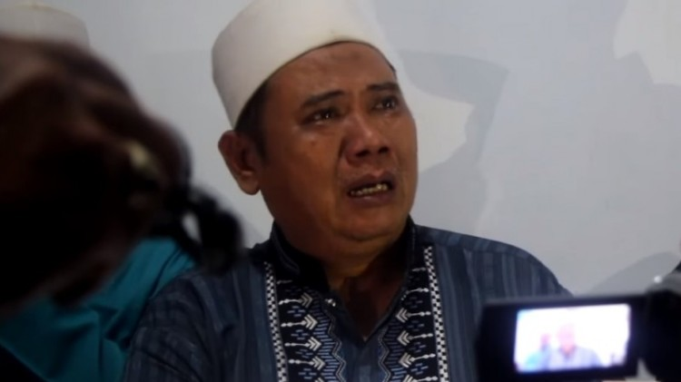 Riyanto Gempol, pelaku penyebar hoax teror kyai di Kediri