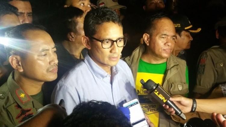 Sandiaga Uno berencana normalisasi sungai