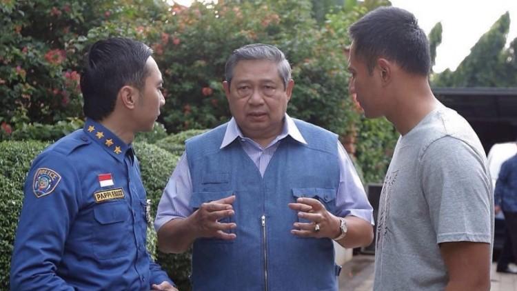 SBY dan kedua putranya