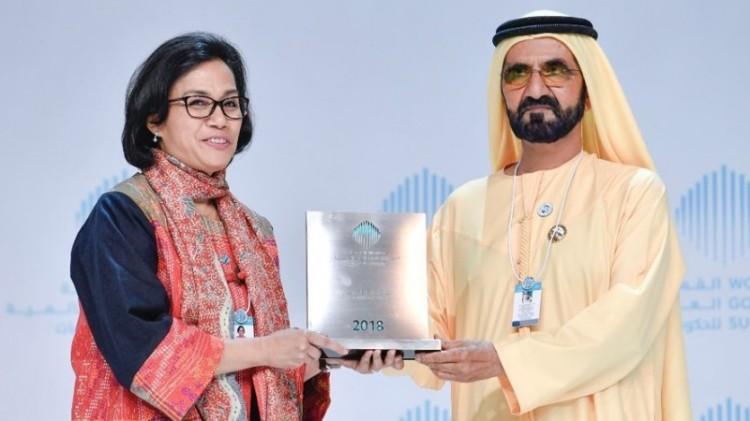 Sri Mulyani menjadi menteri keuangan terbaik di dunia