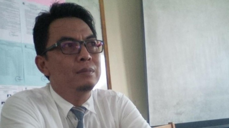 Tampang Yayi Haidar Aqua, pemilik akun FB Ragil Prayoga Hartajo