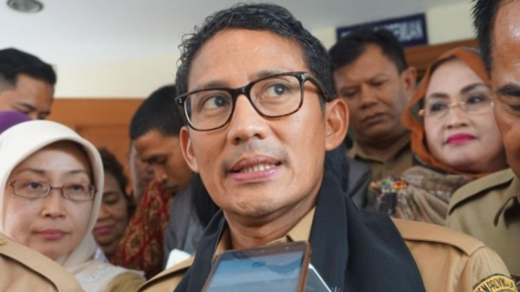 Wakil Gubernur DKI Jakarta Sandiaga Salahuddin Uno