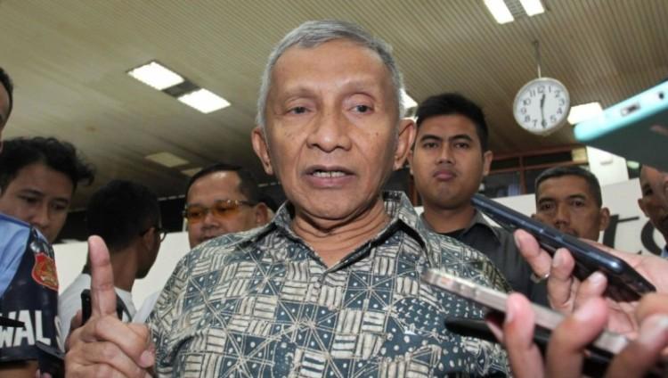 Amien Rais yang kerap mengkritik Jokowi