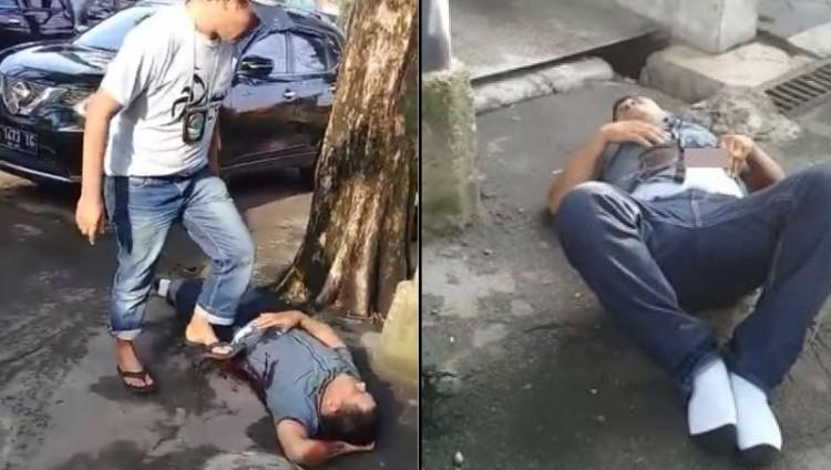 Bandar Narkoba terkapar ditembak polisi di Medan