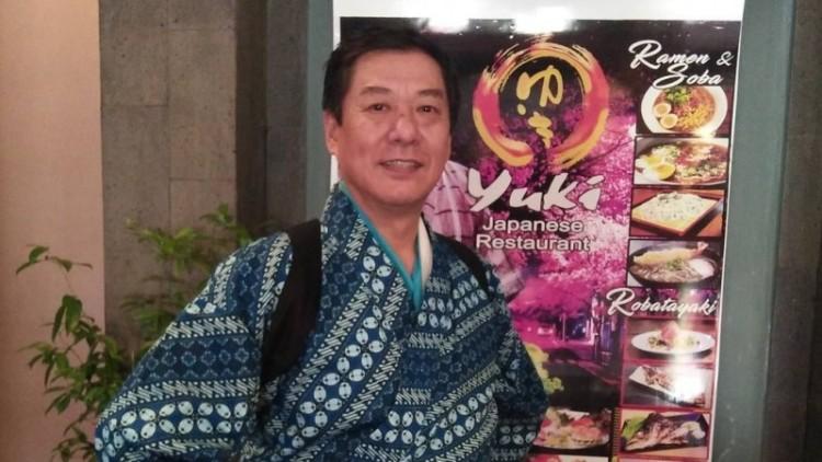 Foto Chef Harada semasa hidup