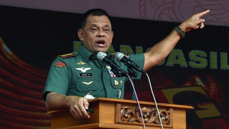Tolak Jadi Cawapres Prabowo, Gerindra Minta Gatot Nyapres di 2024