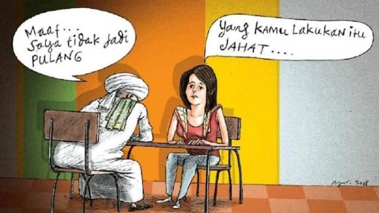 Karikatur Majalah Tempo yang dipersoalkan FPI