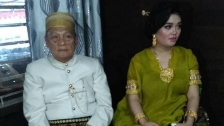 Pernikahan Tajuddin Kammisi dengan Andi Fitriani