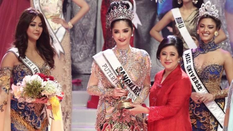 Sonia Fergina Citra terpilih sebagai Putri Indonesia 2018