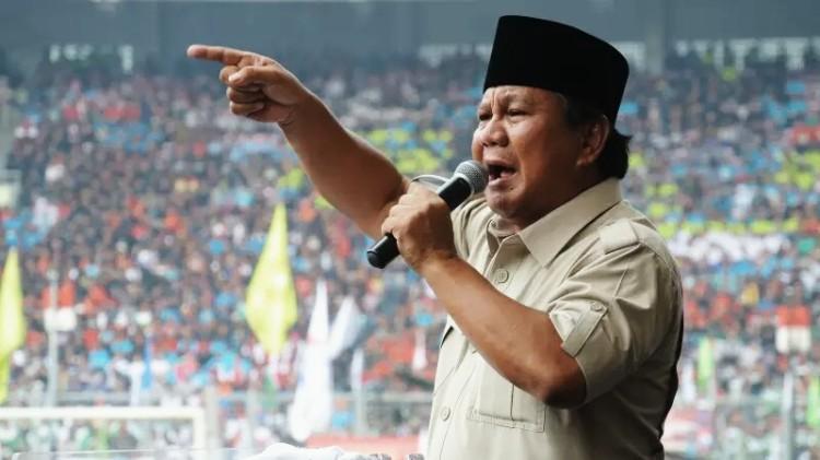 Prabowo berpidato